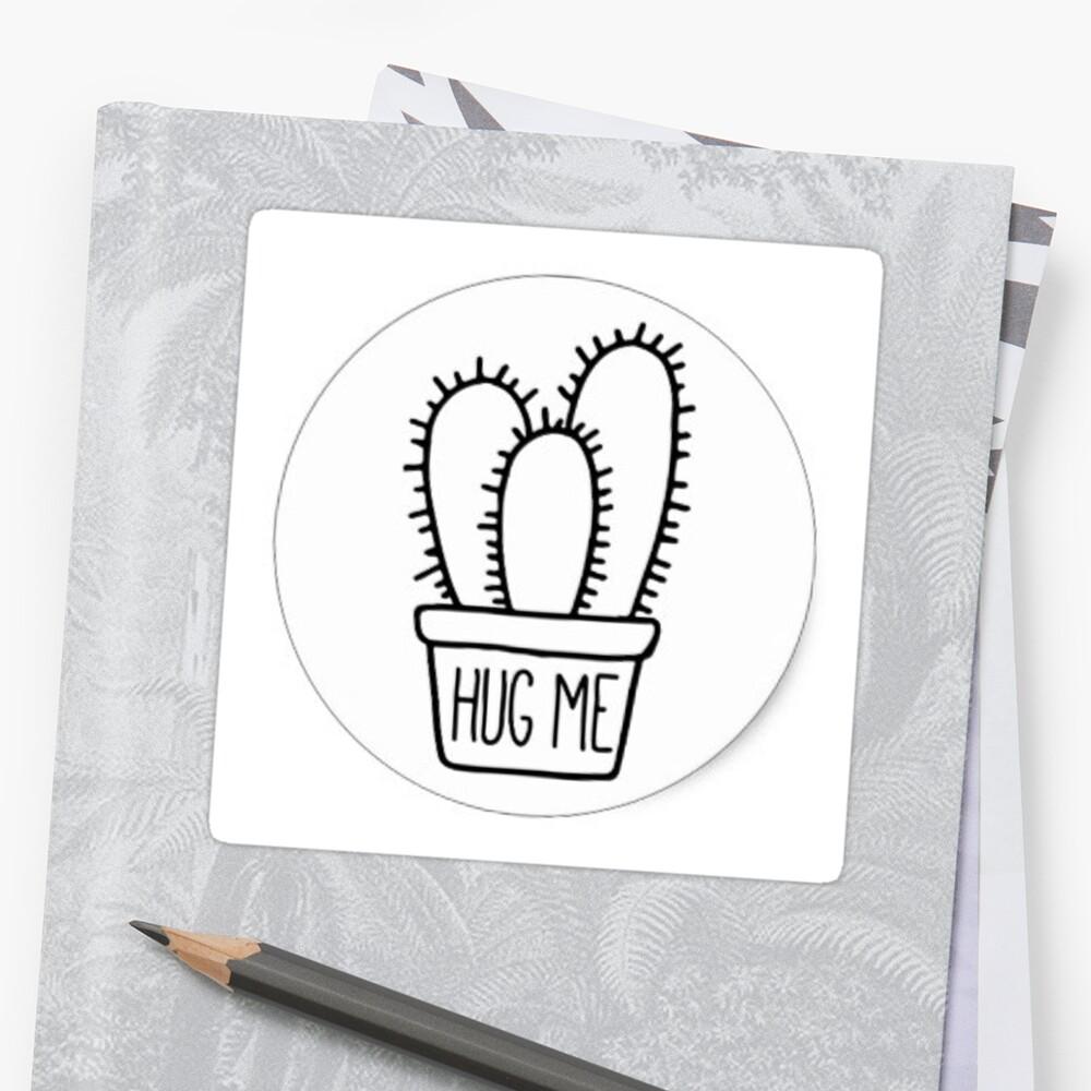 Hug me cactus  by mikaelabarnes1