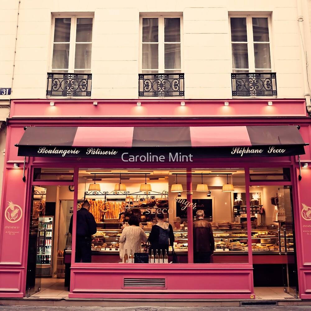 Paris Pink Patisserie  by Caroline Mint
