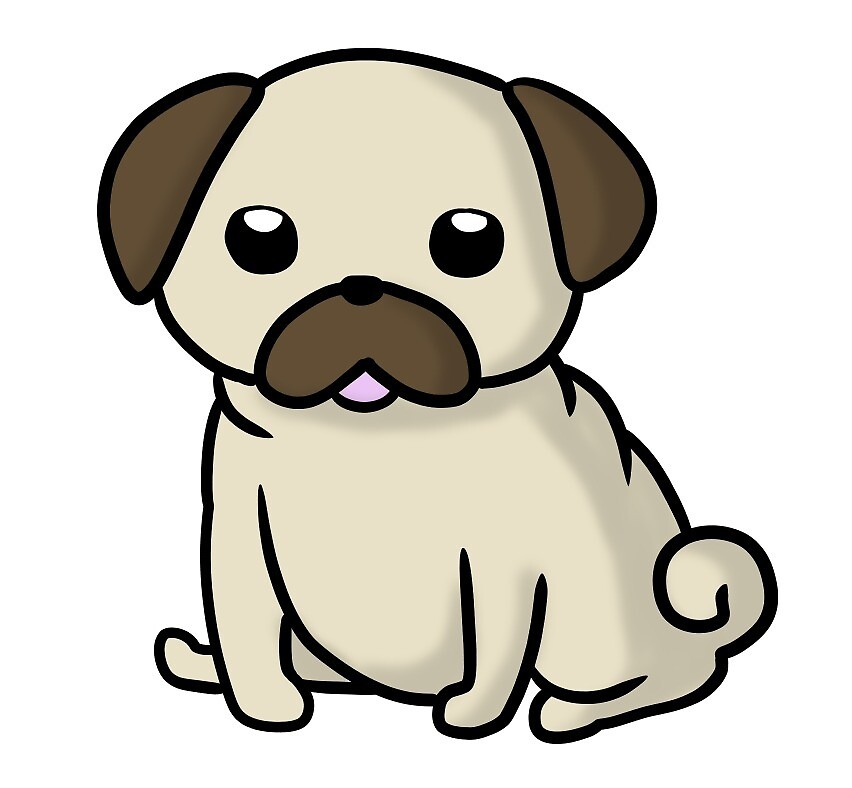 Pug Blehp V2 by MichisGraphics