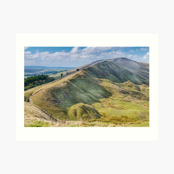 Peak District - Rushup Edge  Art Print