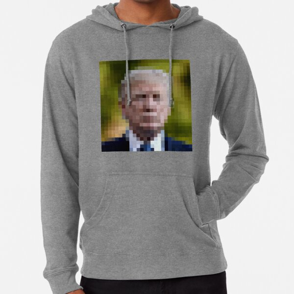 Portrait of a non young man Lightweight Hoodie