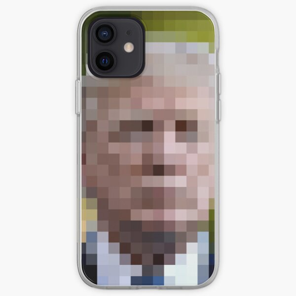 Portrait of a non young man iPhone Soft Case