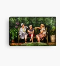 A Sunday Afternoon  Canvas Print