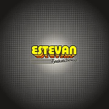 Estevan, Saskatchewan | Retro Stripes by retroready
