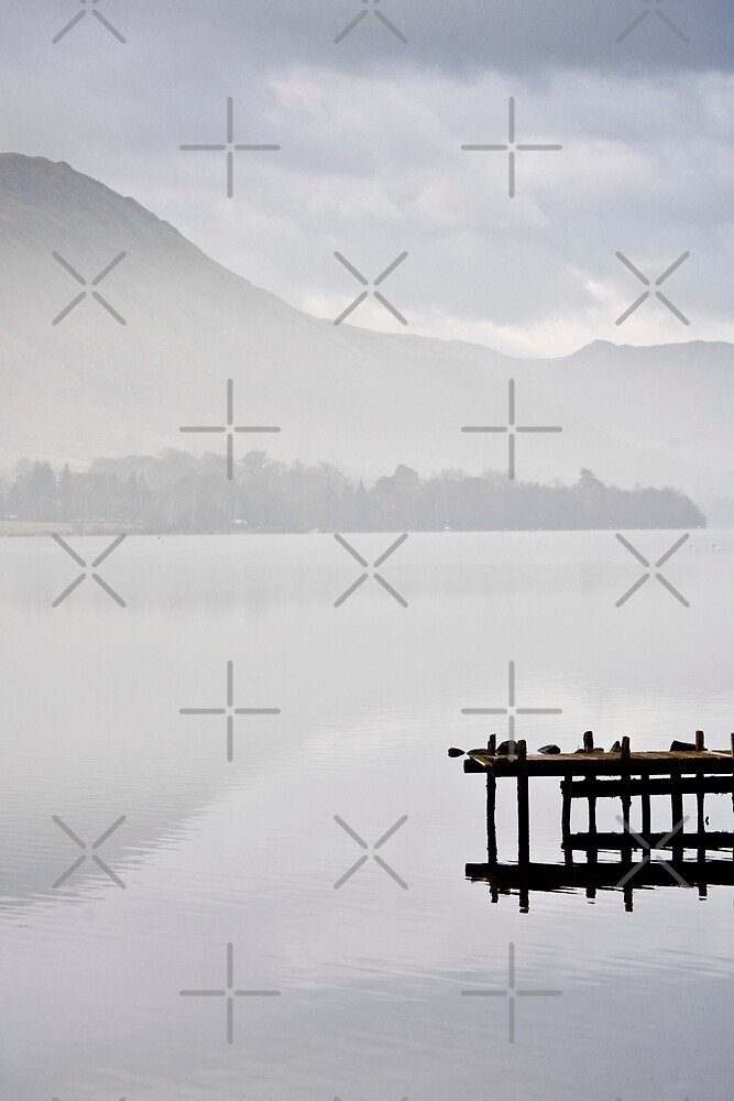 Wooden Jetty Ullswater by JulieP