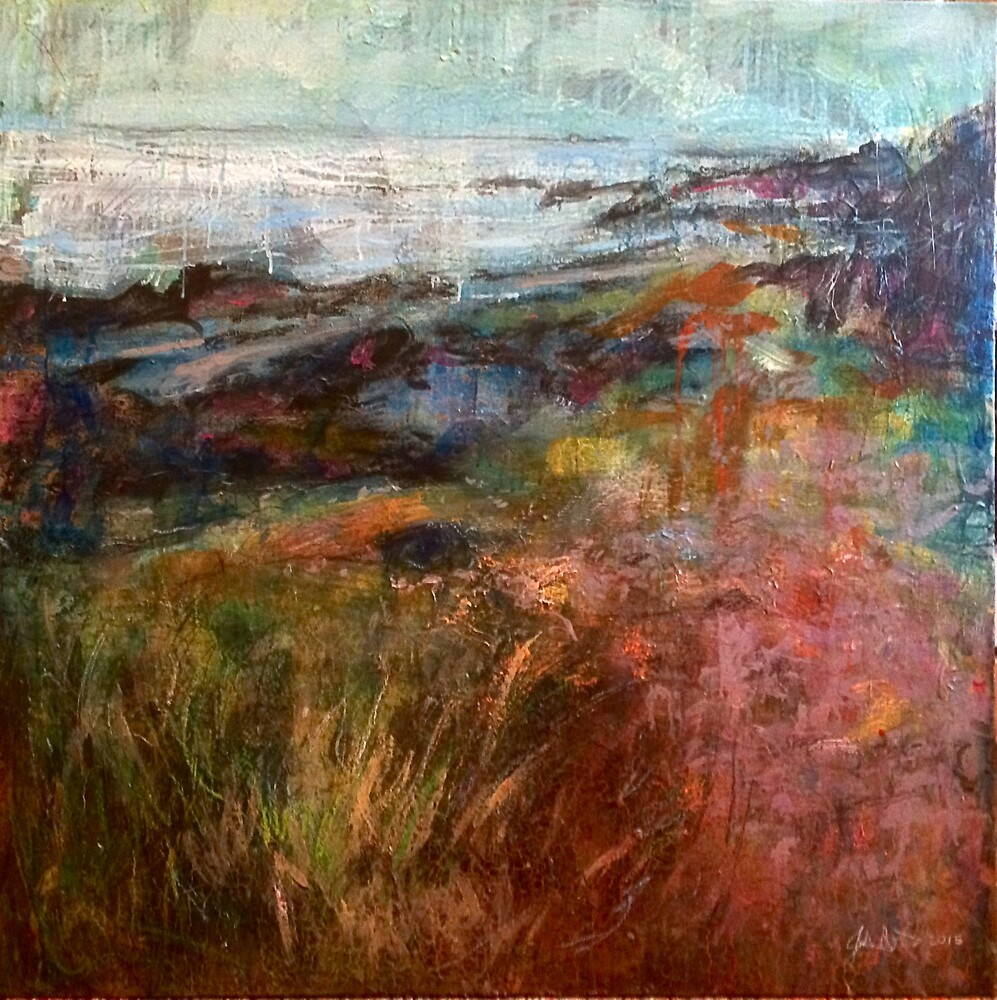 Moville Shore Path by scoltockart