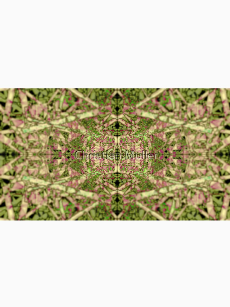 Fractal texture pattern geometric background nature plant painting by christianmuller