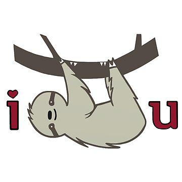 I Sloth U by staceyroman