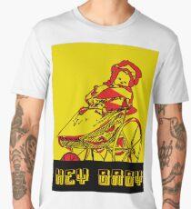Hey Baby No, 2  Men's Premium T-Shirt