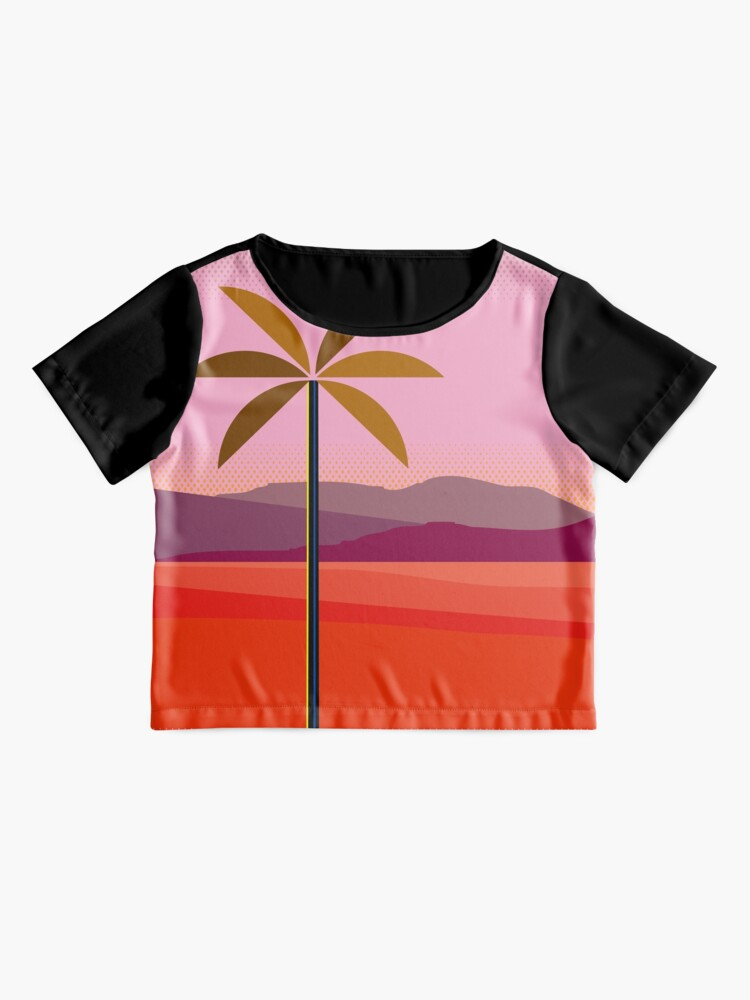 Alternate view of Phoenix Arizona Travel Poster Chiffon Top