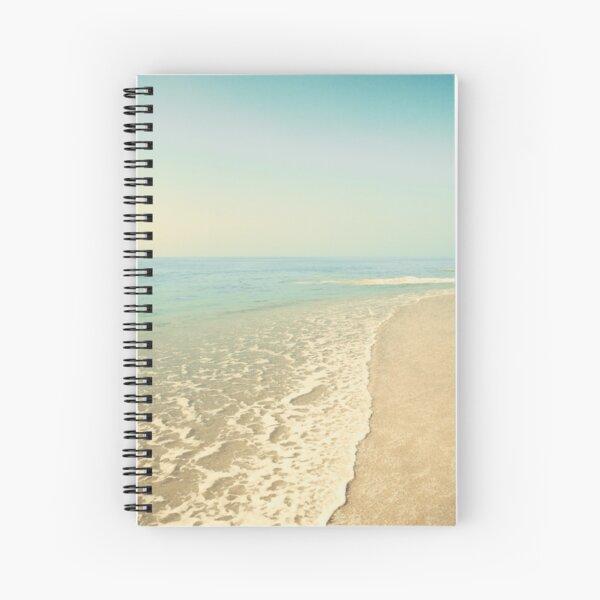Infinite beach Spiral Notebook