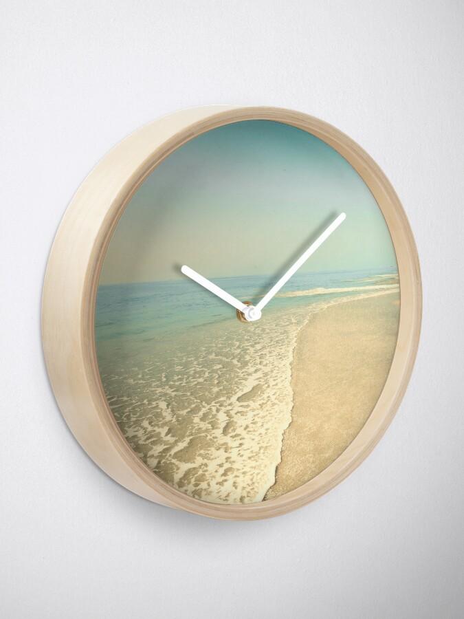 Alternate view of Infinite beach Clock
