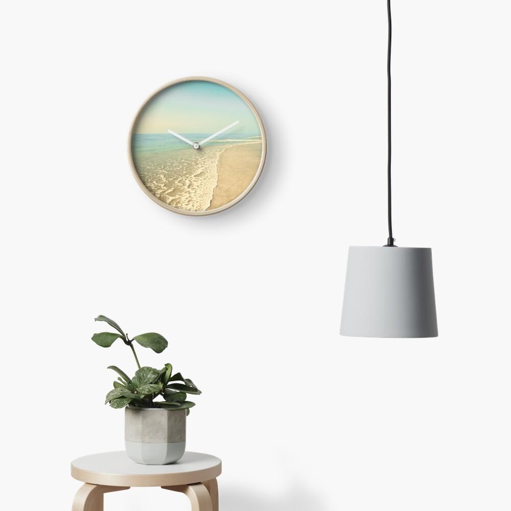 Infinite beach Clock