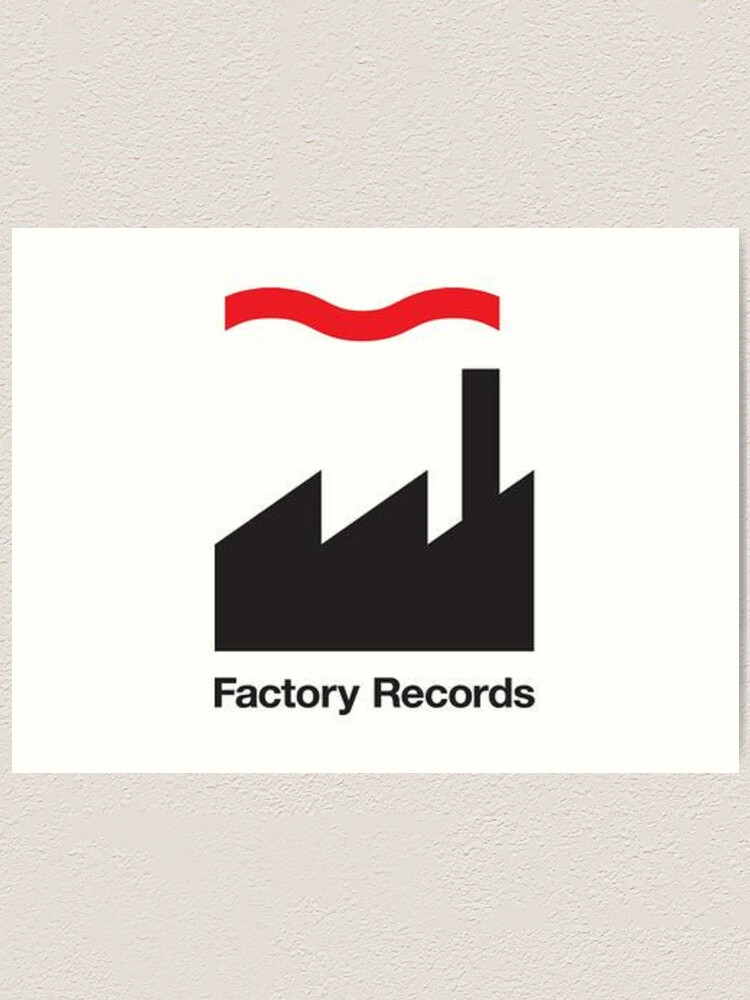 Alternate view of Factory Records Art Print