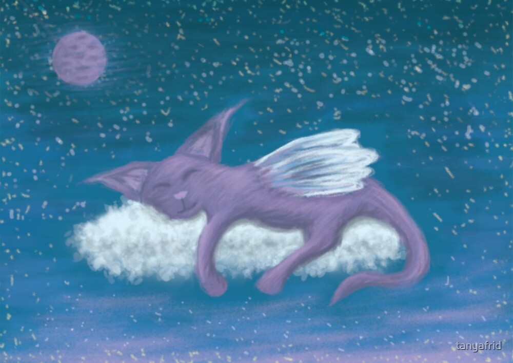 Cosmic Cat by tanyafrid