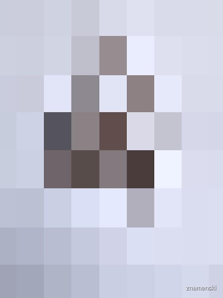 Светло синие прямоугольники не имеющие смысла - Light blue rectangles that do not make sense by znamenski