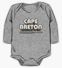 Cape Breton, Nova Scotia | Retro Stripes One Piece - Long Sleeve