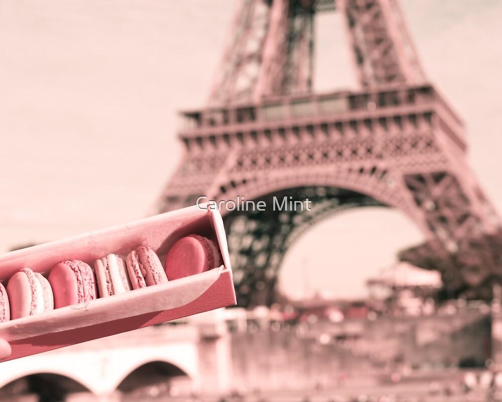 Paris in blush Pink II by Caroline Mint