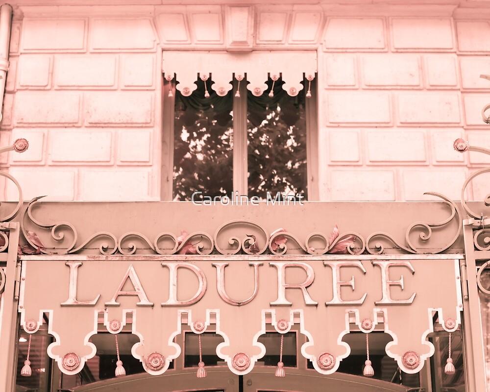 Paris in blush pink IV by Caroline Mint