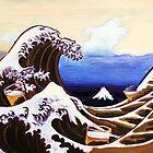 Great Beer Wave of Kanagawa by Scott Clendaniel