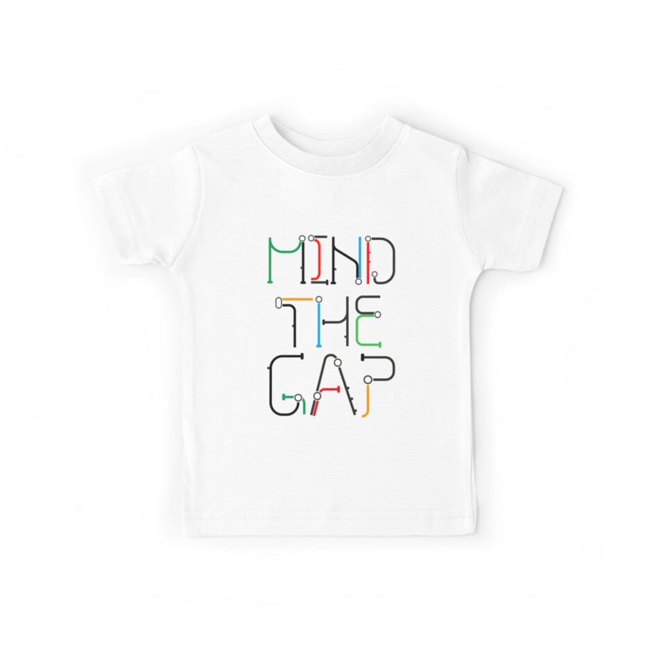Mind the Gap - London Tube Inspired Font by DJD Design