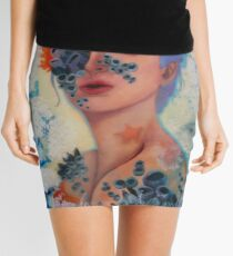 Relic - Realistic Artwork Mini Skirt