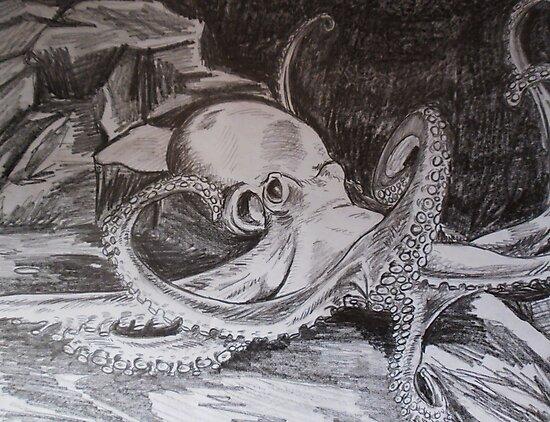 Octopus by BikerDa