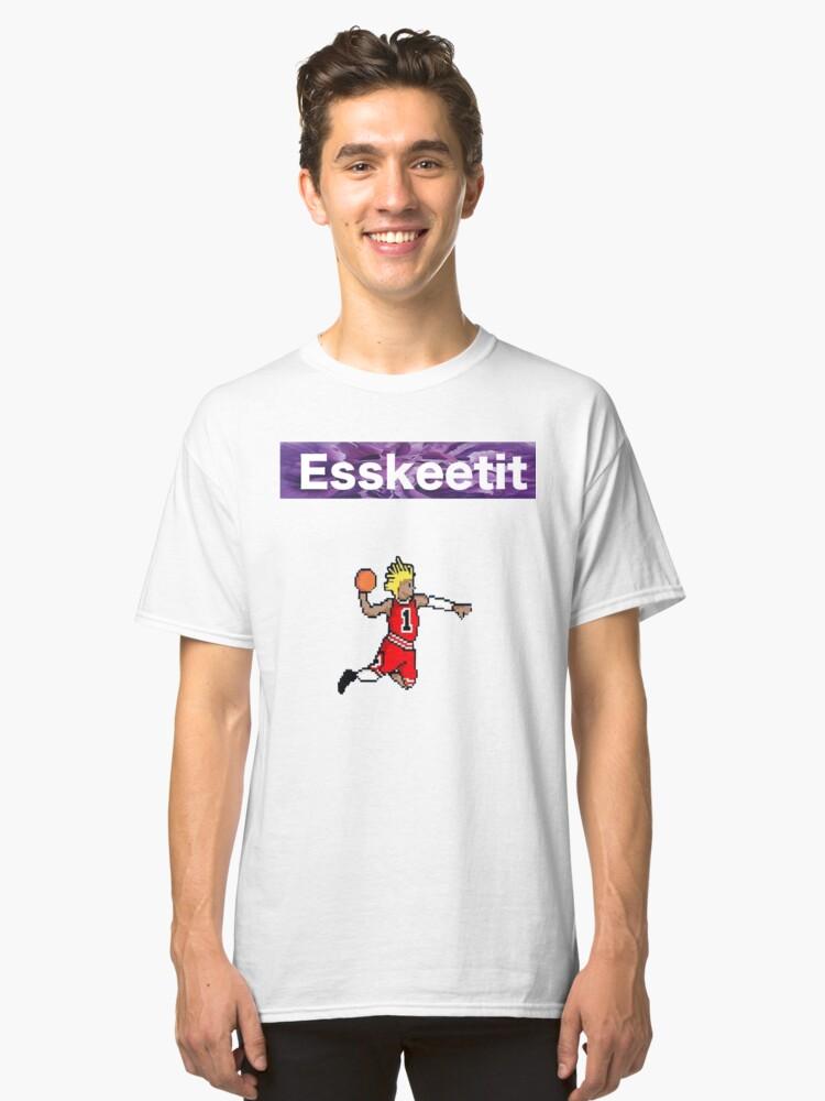 Lil Pump D-Rose Tee Classic T-Shirt Front