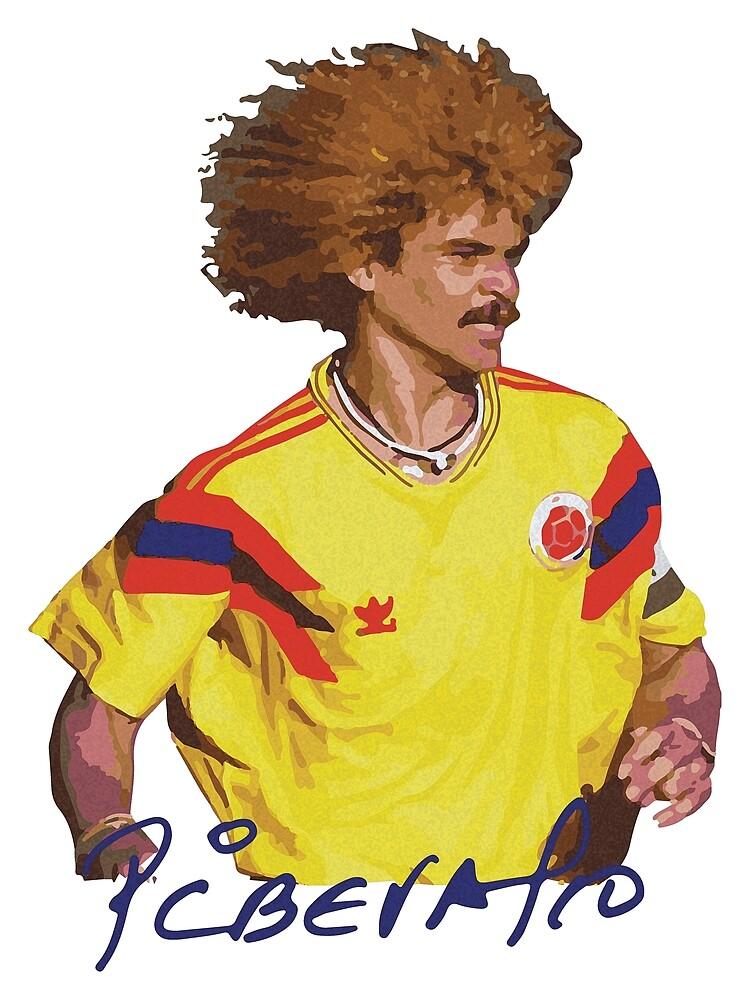 Carlos Valderrama - Football Legends by opngoo