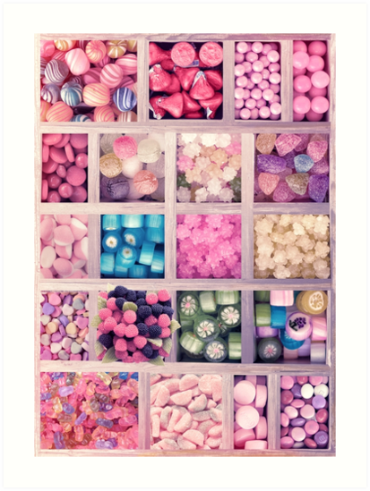 Candies Lovers Sweet Set by Eva Nev