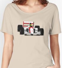 Formula 1 Senna McLaren Women's Relaxed Fit T-Shirt