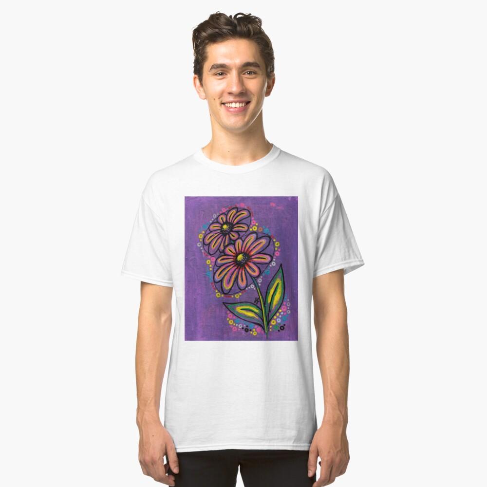 """Glow Violet"" Classic T-Shirt Front"
