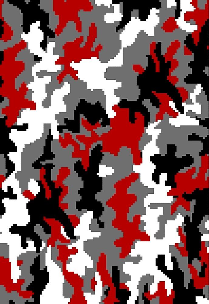 Urban Red Camo by colonio