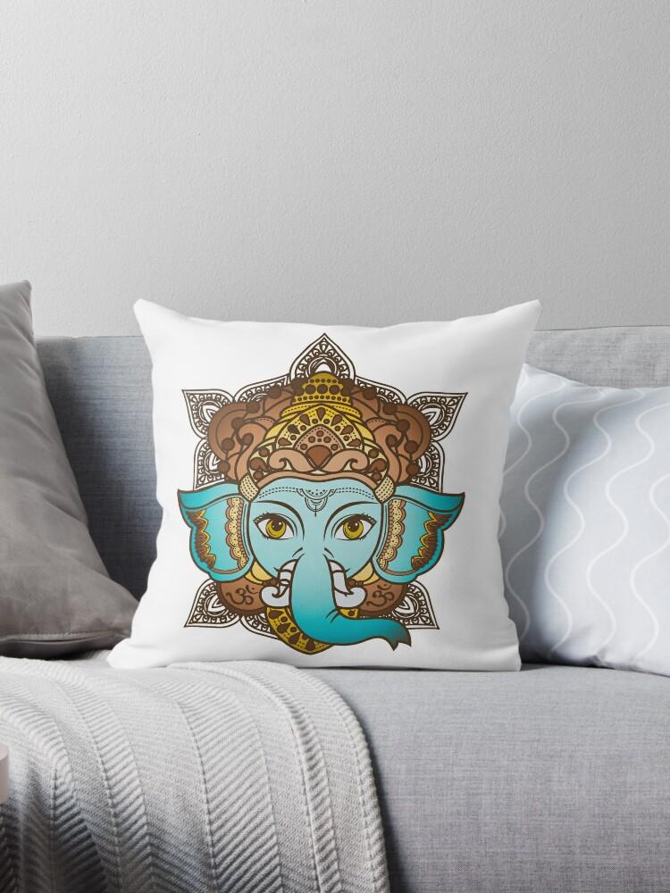 Ganesh Elephant Head - Hindu God of Beginnings by PeppermintClove