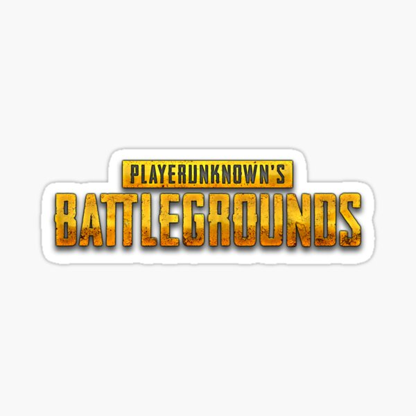 Logo PUBG Sticker