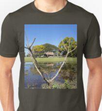 Rustic Shack Reflection, Pacific Highway, Australia 2011 Unisex T-Shirt