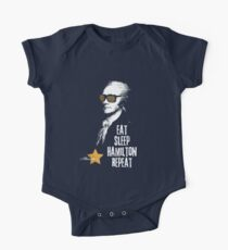 Alexander Hamilton. Eat. Sleep. Hamilton. Repeat.  One Piece - Short Sleeve