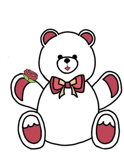 Teddy bear by brookemacd
