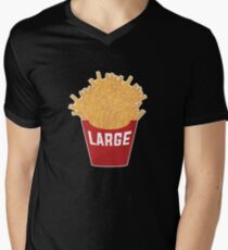 Large Fries Men's V-Neck T-Shirt