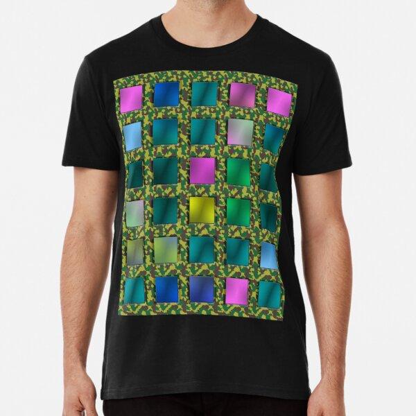 karo luxury colorful camouflage Premium T-Shirt