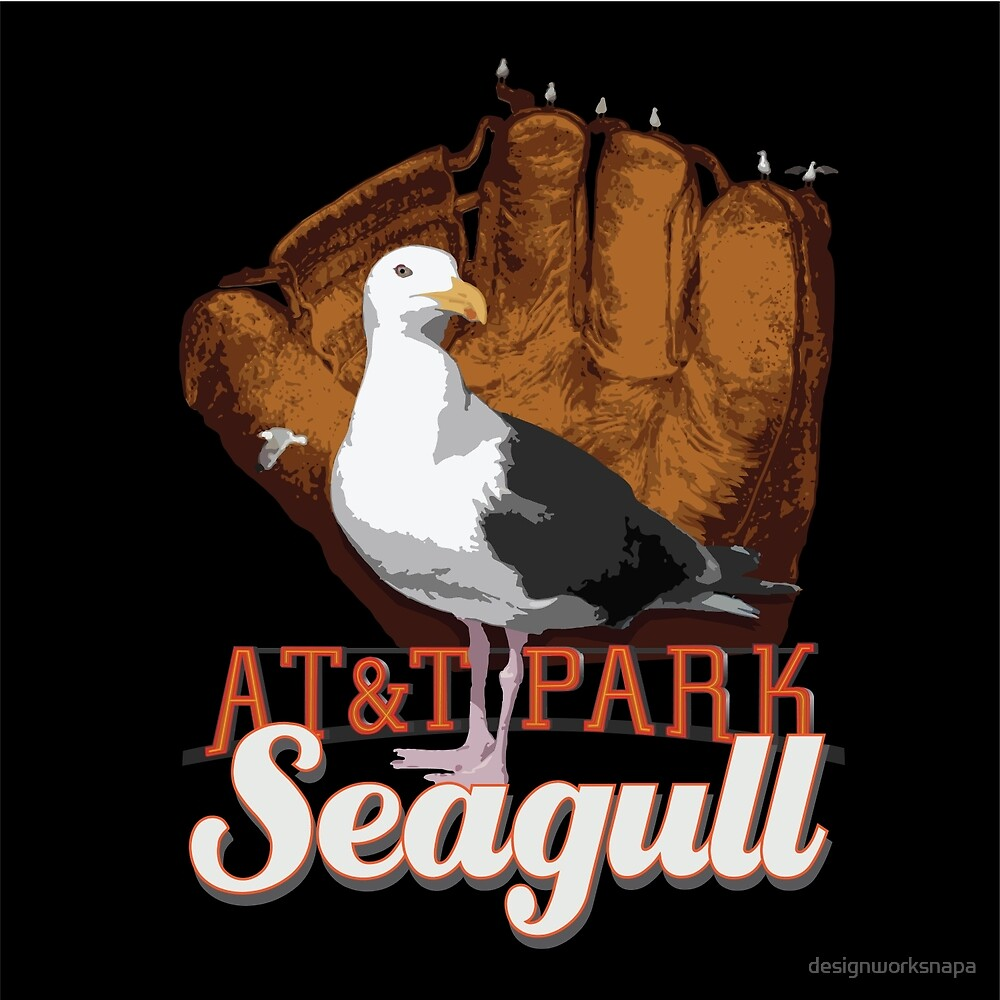 AT&T Park Seagull by designworksnapa