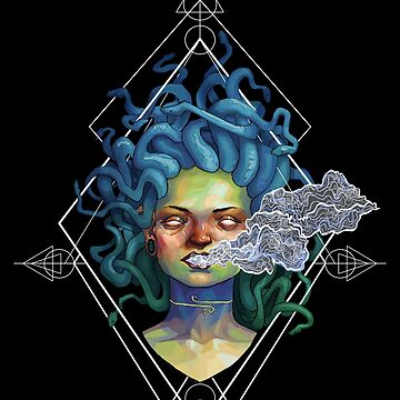 Stoned Medusa by BobShmob