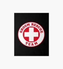 Groom Rescue Team V4 Art Board