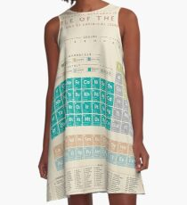 Periodic Table Of The Elements A-Line Dress