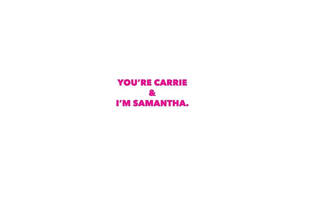 I'm Samantha by jnucks18