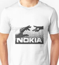 Nokia 3310 Connecting People Retro Welcome Screen Unisex T-Shirt