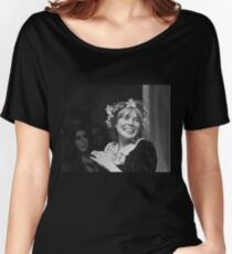 joni mitchell - flower crown Women's Relaxed Fit T-Shirt