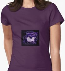1941 Lincoln Limo Design Womens Fitted T-Shirt