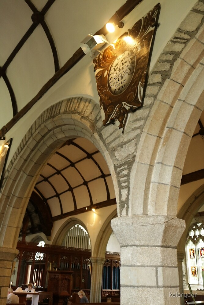 Arches of St Cleer by kalaryder