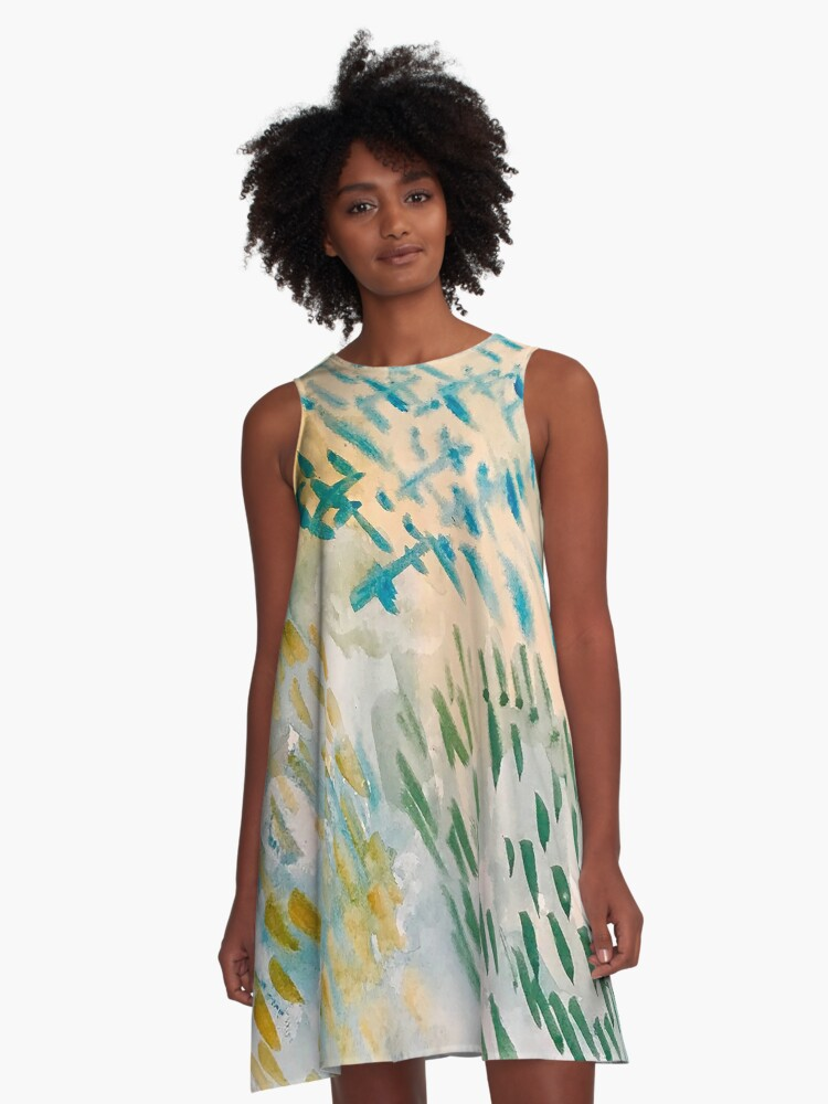 Wilter A-Line Dress Front